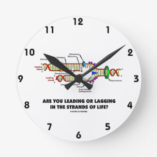 Are You Leading Or Lagging In The Strands Of Life? Round Clock