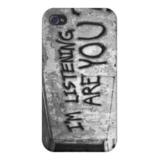 Are You Listening?   iPhone Case iPhone 4/4S Case