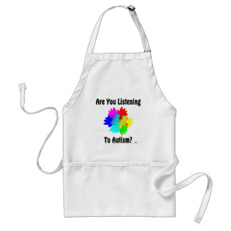 Are You Listening To Autism? Adult Apron