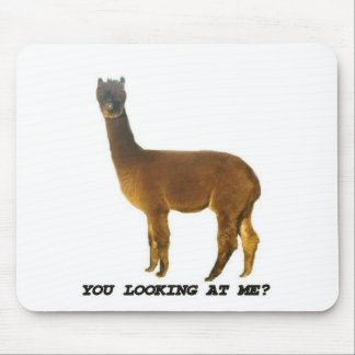 Are you looking at me? mousepads