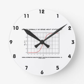 Are You Normally So Dense About Statistics? Round Clock
