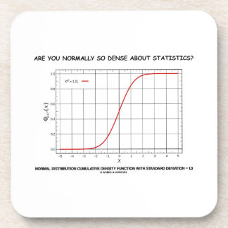 Are You Normally So Dense About Statistics? Coaster