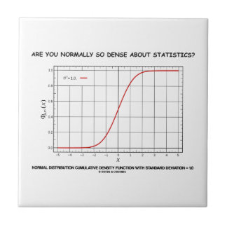 Are You Normally So Dense About Statistics? Tile