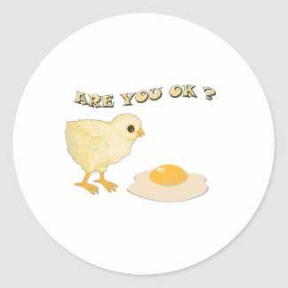 Are you o.k ? stickers
