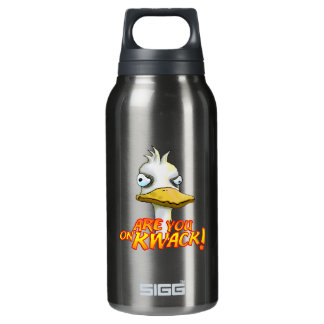 Are You on Kwack! Insulated Water Bottle