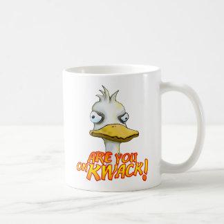 Are You on Kwack! Mug