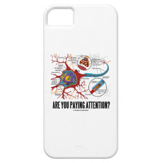 Are You Paying Attention? Neuron Synapse Humor iPhone SE/5/5s Case
