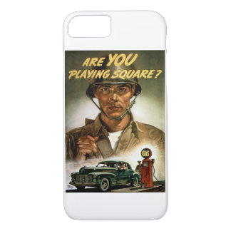 Are You Playing Square? iPhone 7 Case