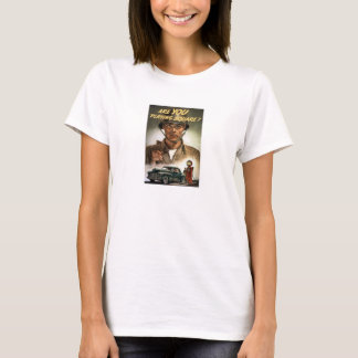 Are You Playing Square -- World War Two T-Shirt