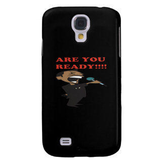 Are You Ready Samsung Galaxy S4 Cover