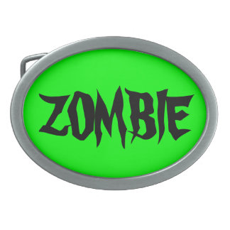 ARE YOU READY FOR A ZOMBIE ATTACK? BELT BUCKLE