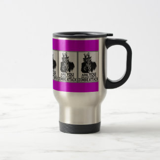 ARE YOU READY FOR A ZOMBIE ATTACK MUG