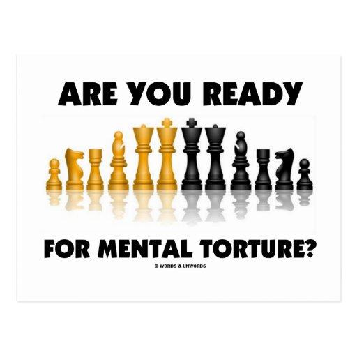 are you ready for mental torture chess set postcard r09f3327c78a54aab9d7ab58b15eef09b vgbaq 8byvr 512 Những thông tin kì thú với trò chơi cờ vua