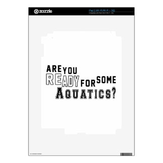 Are you ready for some Aquatics Decals For The iPad 2