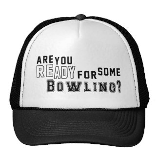 Are you ready for some Bowling Trucker Hat