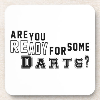 Are you ready for some Darts Beverage Coaster
