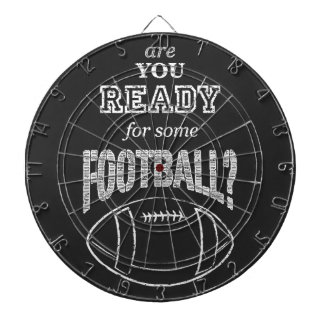are you ready for some football? dart board