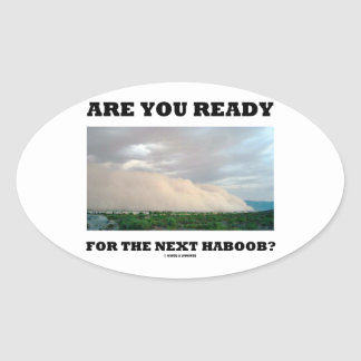 Are You Ready For The Next Haboob Dust Storm Stickers