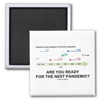 Are You Ready For The Next Pandemic? Magnet
