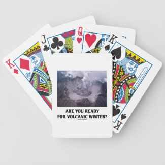 Are You Ready For Volcanic Winter? (Volcanology) Card Decks