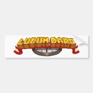 Are you ready to LUDUM DARE? Car Bumper Sticker