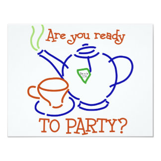 Are You Ready to Party? Card