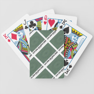 Are You Seasick Yet? (Motion Illusion) Bicycle Playing Cards