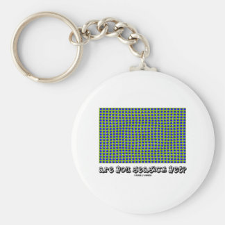 Are You Seasick Yet? (Motion Illusion) Keychain