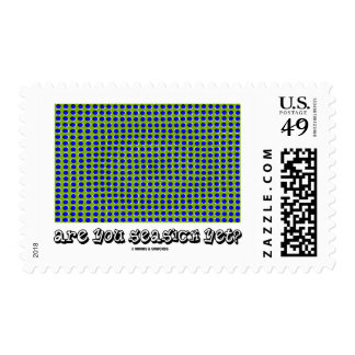 Are You Seasick Yet? (Motion Illusion) Postage