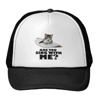 Are You Sing With Me - The Cat Trucker Hat