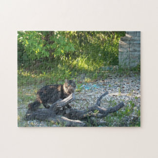Are you staring at my wood? jigsaw puzzle