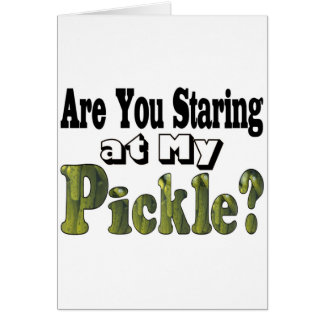 Are You Staring? Greeting Card