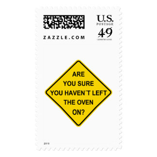 Are you sure you haven´t left the oven on? postage