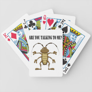 Are you talking to me bicycle playing cards