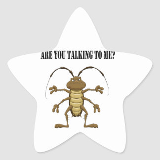 Are you talking to me star sticker