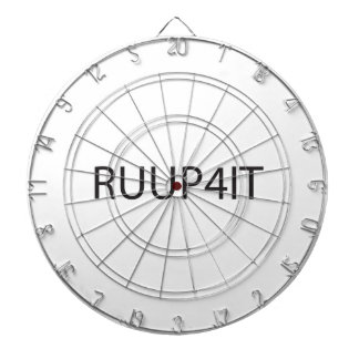 Are You Up For It.ai Dart Board