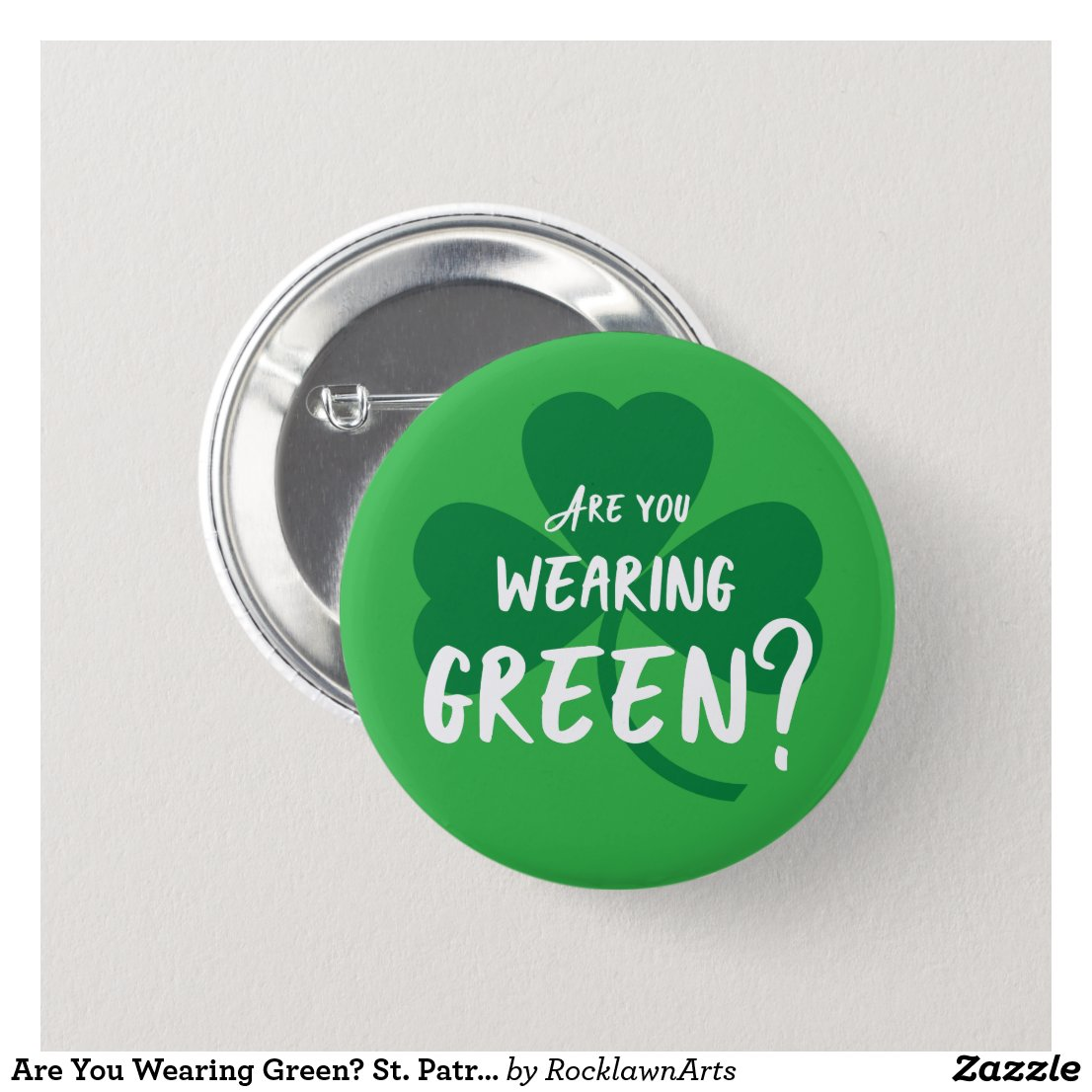 Are You Wearing Green? Shamrock