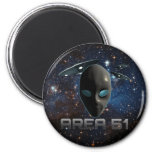 Area 51 2 inch round magnet