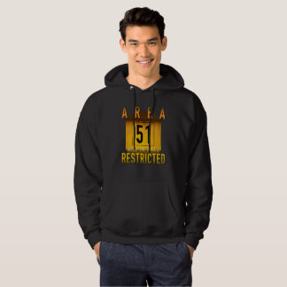 Area 51 Access Restricted Retro Grunge :: Hoodie