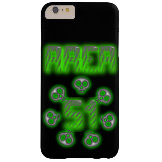 Area 51 Alien case Barely There iPhone 6 Plus Case