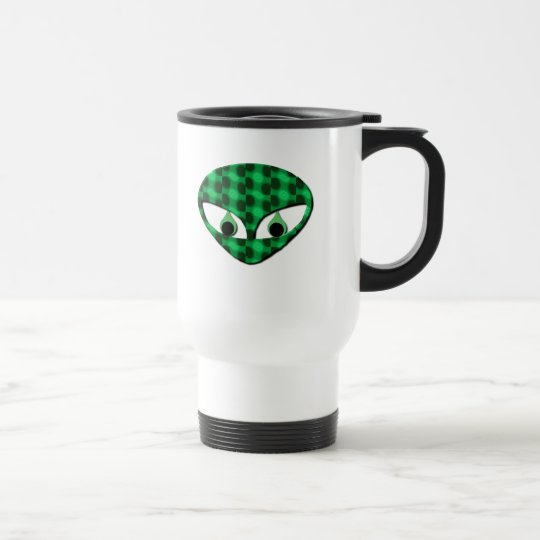 Area 51 Alien Plastic Travel Mug
