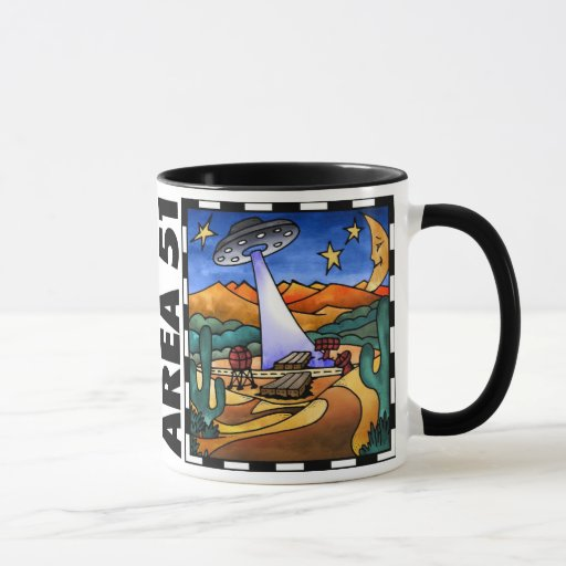 Area 51 ~ Alien UFO Mug