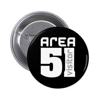 Area 51 Alien Visitor Button