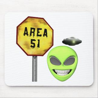 Area 51 Aliens Mouse Pad