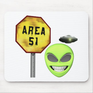 Area 51 Aliens Mousepads