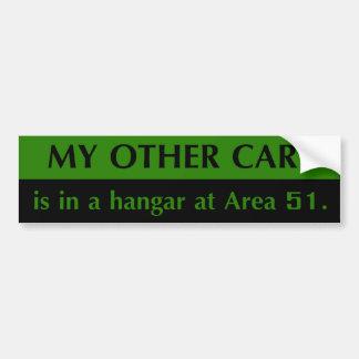 Area 51 Bumper Sticker Car Bumper Sticker