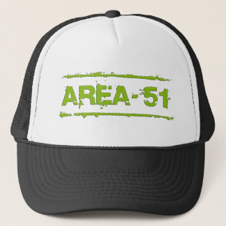 AREA 51 BY EKLEKTIX TRUCKER HAT