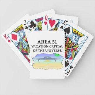 área 51 barajas de cartas