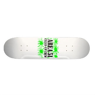 Area 51 Clean-Up Crew Skate Board Deck