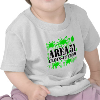Area 51 Clean-Up Crew Tshirt